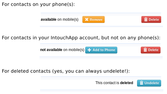 """Spring-clean your phone contacts without ever """"deleting"""" them"""